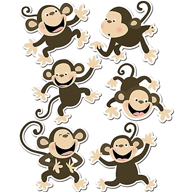 Creative Teaching Press™ 6in. Designer Cut-Outs, Monkey
