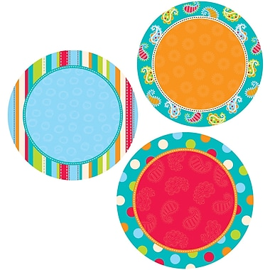 Creative Teaching Press™ 10in. Jumbo Designer Cut-Outs, Dots on Turquoise Dots