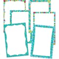 Creative Teaching Press™ Mini Chart, Dots on Turquoise