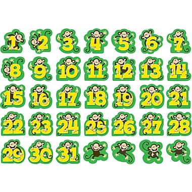 Creative Teaching Press™ Calendar Days, Monkeys