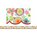 Creative Teaching Press™ Toddler - 12th Grades Pennant Border, Poppin's Patterns