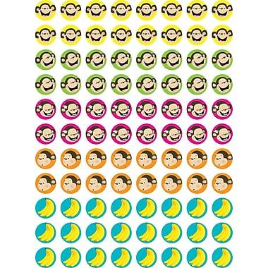 Creative Teaching Press™ Hot Spots Stickers, Monkeys and Bananas