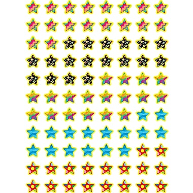 Creative Teaching Press™ Hot Spots Stickers, Poppin' Patterns Stars