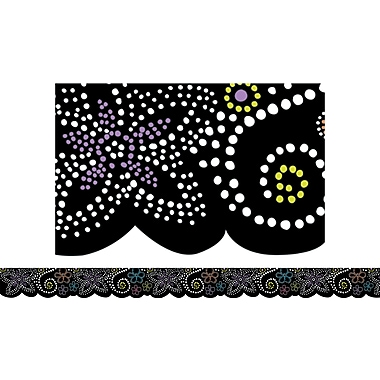 Creative Teaching Press™ Toddler - 12th Grades Wavy Border, Dots in Bloom