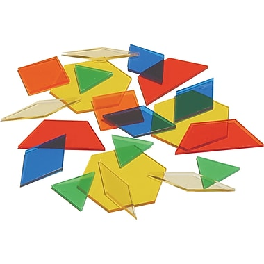 Learning Advantage™ Overhead Pattern Block, Grades Pre School - 8th
