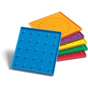 "Learning Advantage™ 6"" Double Sided Geoboard, Grades Kindergarten+"
