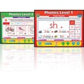 Daydream Education English Phonics Set Whiteboard Chart CD, Grades Pre Kindergarten - 3rd