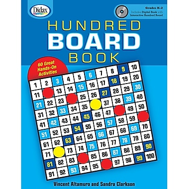 Didax® Hundred Board Book, Grades Kindergarten - 2nd