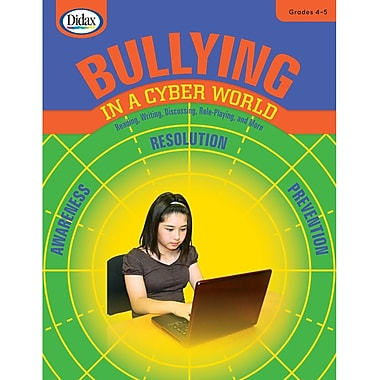 Didax® Bullying in a Cyber World Book, Grades 4th - 5th