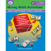 Didax® Money Math Activities Book and CD, Grades 3rd - 6th