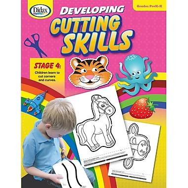 Didax® Developing Cutting Skills, Grades Pre Kindergarten - Kindergarten
