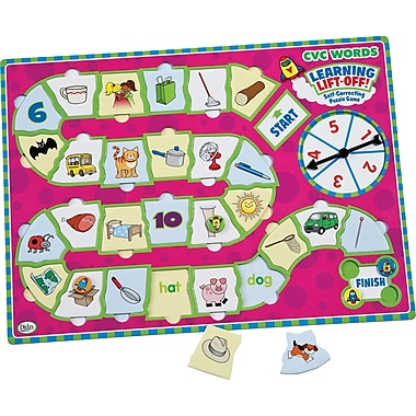 Didax® Learning Lift Off CVC Words Game, Grades Kindergarten - 1st