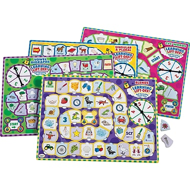 Didax® Learning Lift-Off Reading Puzzle, Grades Kindergarten - 3rd