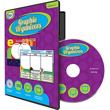 Didax® Graphic Organizers CD, Grades Kindergarten - 2nd
