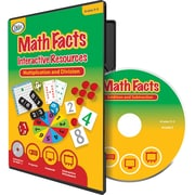 Didax® Math Facts Interactive Resources CD, Grades 3rd - 5th