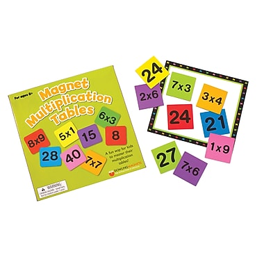 Dowling Magnets® Magnet Muliplication Table
