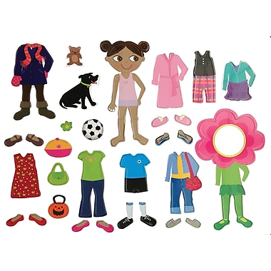 Dowling Magnets® Get Dressed Magnet Set