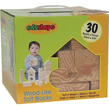 Edushape® Wood-Like-Soft Blocks