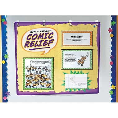 Educational Insights® Math Vocabulary Comic Relief, Grades 4th - 6th