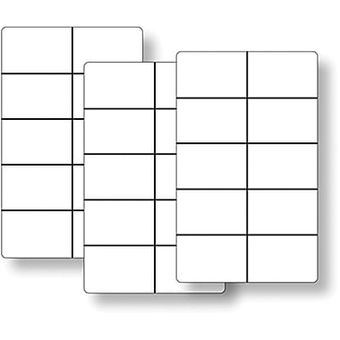 Essential Learning™ Ten Frame Cards Classroom Set, Grades Kindergarten - 1st