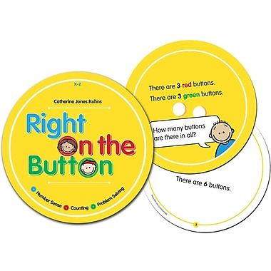 Essential Learning™ Right On The Button Card, Grades Kindergarten - 2nd