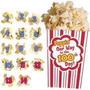 Edupress® Bulletin Board Set, 100 Days of Popcorn
