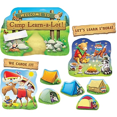 Edupress® Bulletin Board Set, Camp Learn-A-Lot