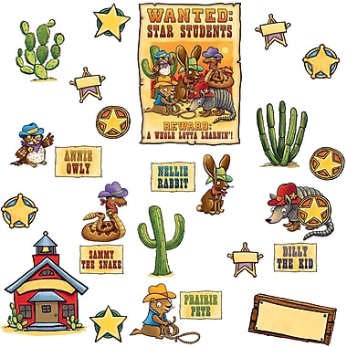 Edupress® Bulletin Board Set, Wanted Star Students