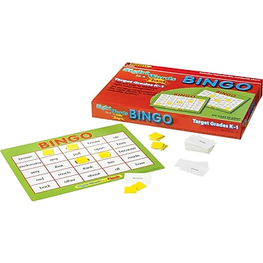 Edupress® Sight Words in a Flash™, Bingo Game, Grades Kindergarten - 1st