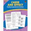 Edupress Cause and Effect Reading Comprehension Activities Book, Grades 1st - 3rd, Blue Level