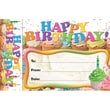 Edupress® Happy Birthday Cupcakes Bookmark Award, Grades preschool - 6th