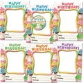 Edupress® Toddler - 12th Grades Bulletin Board Frame Accents, Happy Birthday Cupcakes