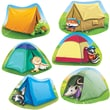 Edupress® Toddler - 6th Grades Bulletin Board Accents, Camping Critters