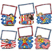 "Edupress EP3186 6"" x 8"" DieCut Patriotic Bulletin Board Accents, Multicolor"