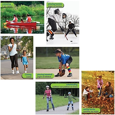 Edupress® Pre School - 6th Grades Instructional Accents, Healthy Sports and Activities