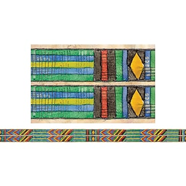 Edupress® Kindergarten - 12th Grades Straight Spotlight Border, African Cloth