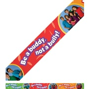 Edupress® Pre School - 8th Grades Straight Photo Border, Be a Buddy, Not a Bully