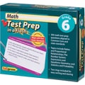 Edupress® Math Test Prep in a Flash™ Color-Coded Flash Cards, Grades 6th