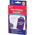 Edupress® Identifying Genres Reading Comprehension Practice Cards, Blue Level, Grades 2nd - 5th