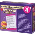 Edupress® Reading Comprehension Test Prep in a Flash™, Grades 4th