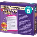 Edupress® Reading Comprehension Test Prep in a Flash™, Grades 6th