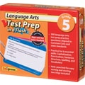 Edupress® Language Arts Test Prep in a Flash™, Grades 5th