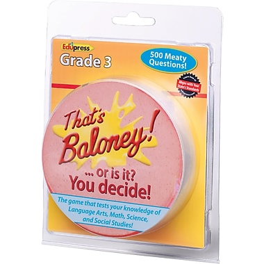 Edupress® That's Baloney Game, Grades 3rd
