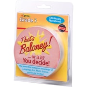 Edupress® That's Baloney Game, Grades 3rd