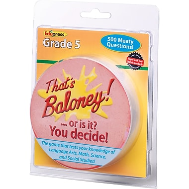 Edupress® That's Baloney Game, Grades 5th