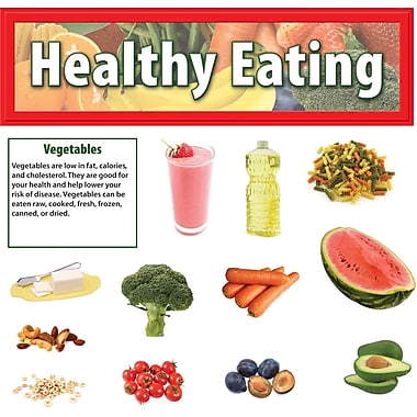 Edupress® Bulletin Board Set, Healthy Eating