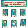 Edupress® Bulletin Board Set, Monkeying Around With Word Families