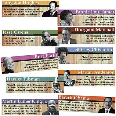 Edupress® Bulletin Board Set, Notable Black Americans