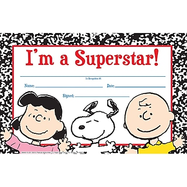 Eureka® Peanuts® Recognition Award, Super Star
