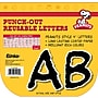 Eureka® Peanuts® Reusable Punch Out Deco Letters, Black